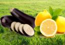 Berenjena y limón para adelgazar