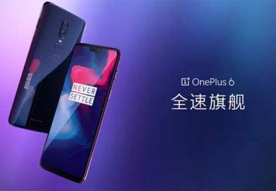 OnePlus 6 se lanzó en China con un precio inicial de 3.199 yuanes ($503)