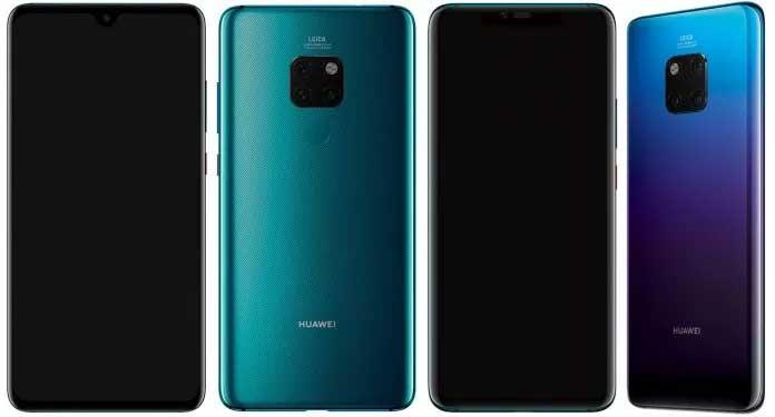 Huawei Mate 20, Mate 20 Pro precio, especificaciones, características