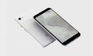 Google Pixel 3 Lite XL Renders Surface: entrada de auriculares, muesca hacia fuera