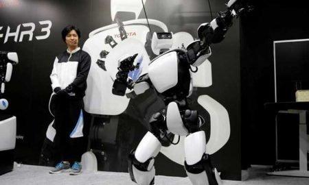 Conoce todo sobre el nuevo robot que representa al ser humano T-HR3