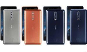 Nokia 8: precio, especificaciones,características, comparaciones