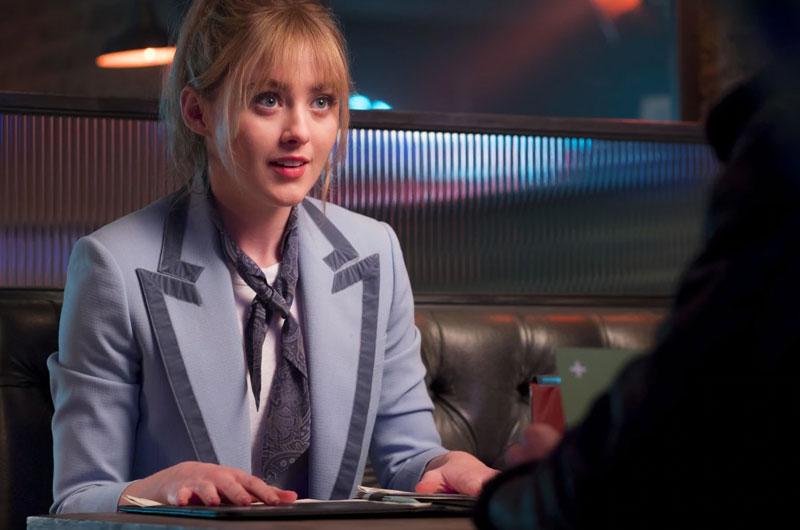 Kathryn Newton como Lucy Stevens en Pokemon: Detective Pikachu