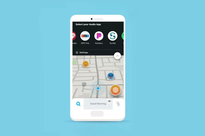 Waze para iOS ahora te permite transmitir música desde Pandora