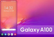 Samsung Galaxy A100 se actualiza a pantalla completa