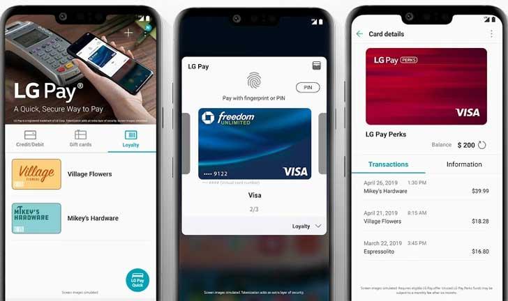 LG Pay ya está disponible en los Estados Unidos, pero solo en un teléfono
