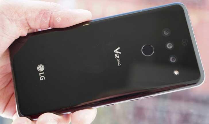 LG V50 ThinQ Revisión: ¿Se entrega el primer teléfono 5G de Sprint?