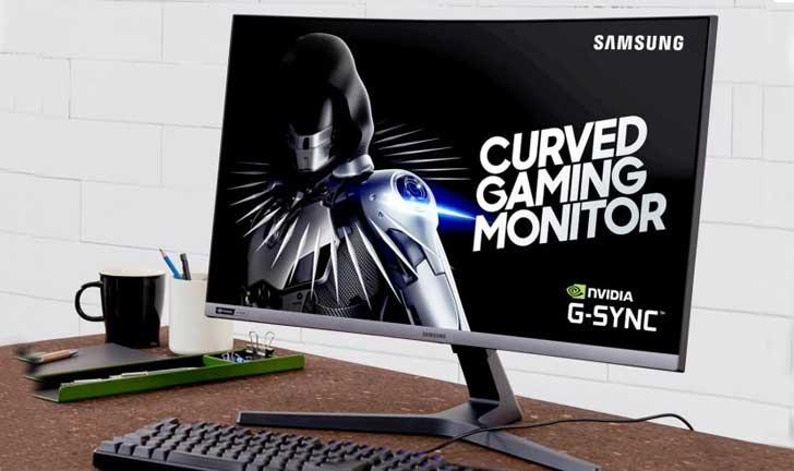 Samsung presenta un monitor de juego curvo de 27 pulgadas