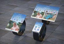 Olvide el Galaxy Fold, queremos el increíble Reloj Inteligente Plegable de IBM