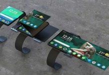 El reloj inteligente plegable Oppo es más que un reloj inteligente