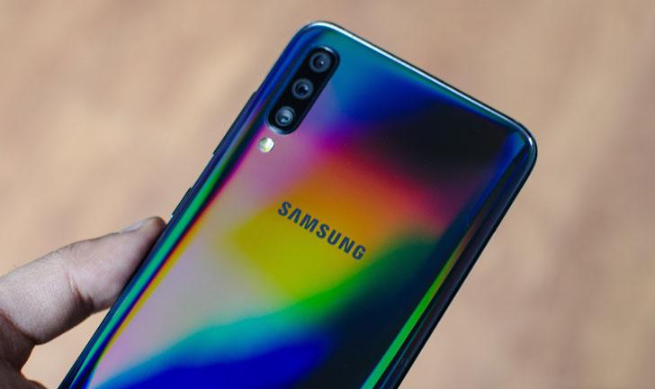 Samsung Galaxy A70 Revisión: más grande y mejor