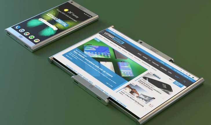 Aplicación de una pantalla flexible con un teléfono inteligente