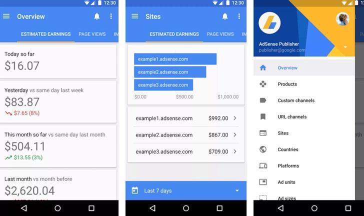 AdSense en Android e iOS