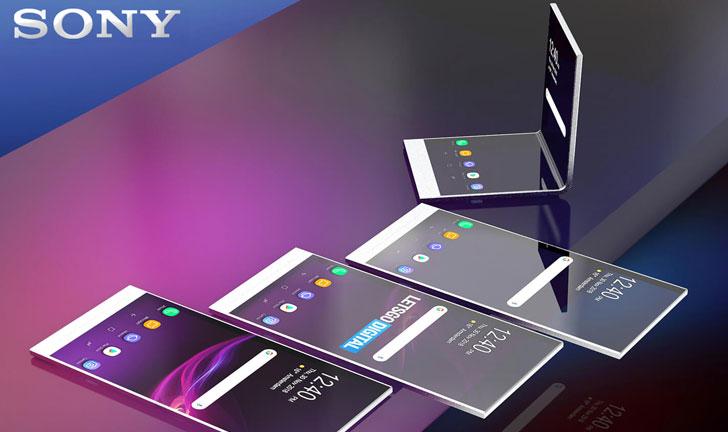 El smartphone plegable de Sony obtiene sensores en la pantalla
