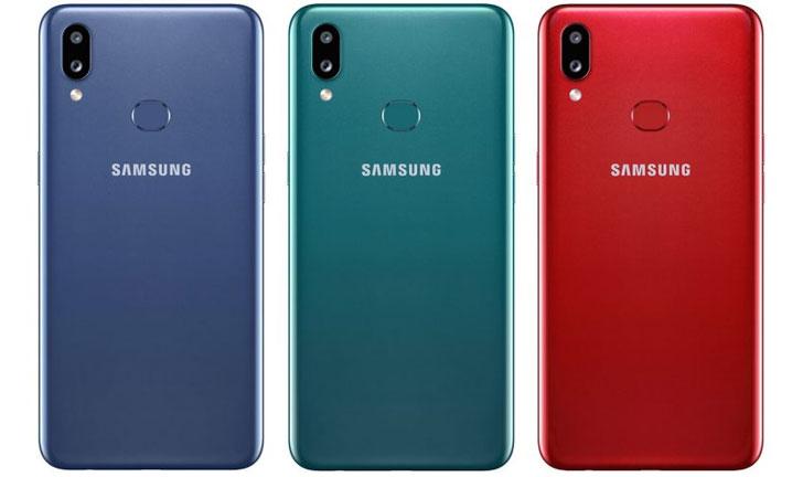 Teléfono económico Samsung con cámara dual
