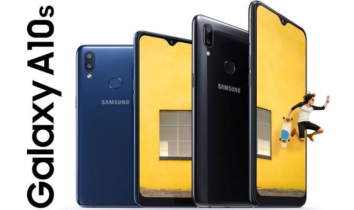Samsung Galaxy A10s con batería grande y cámara dual