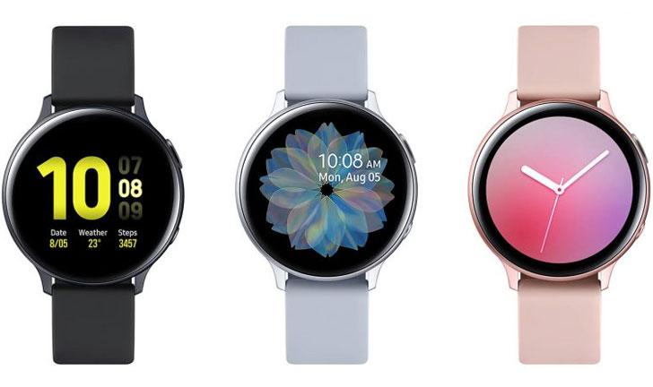 Mide tu salud con el Samsung Galaxy Watch Active 2