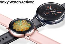 Samsung Galaxy Watch Active 2 con anillo giratorio