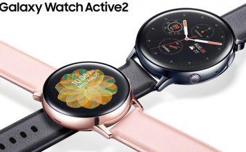 Samsung Galaxy Watch Active 2 con anillo giratorio