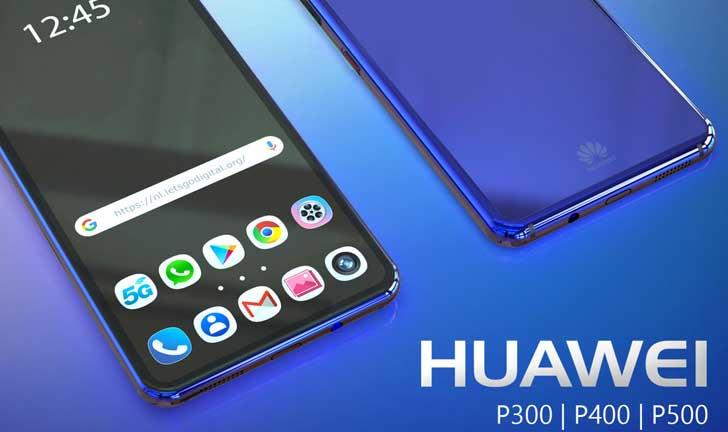 Modelos de teléfonos inteligentes Huawei: P300, P400 y P500