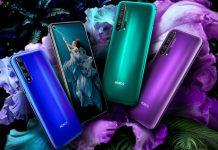 Smartphone Honor 20 Pro con cámara cuádruple