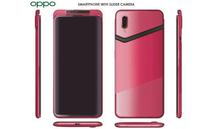 Los renders oficiales del producto muestran el nuevo teléfono inteligente Oppo Find