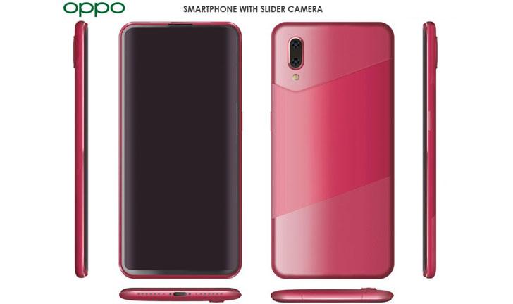 El teléfono inteligente Oppo más nuevo con cámara deslizante