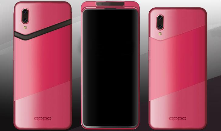 El teléfono inteligente de Oppo muestra un nuevo modelo con cámara deslizante