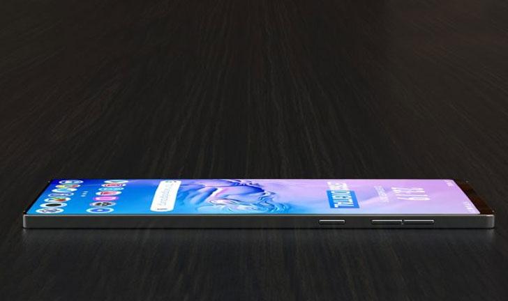 Samsung Galaxy S11e con pantalla grande en la parte posterior