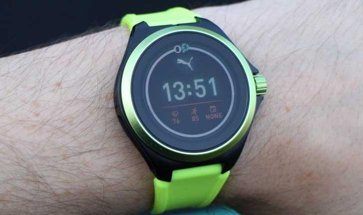 Puma Smartwatch Revisión: se ve deportivo, funciona mal