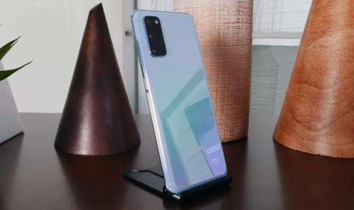 Diseño del Samsung Galaxy S20
