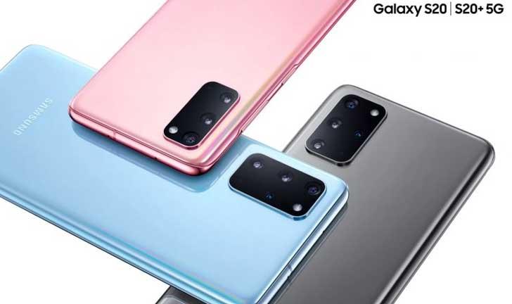 Modelo Galaxy 20 5G y 4G