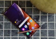 La pantalla del Galaxy Note 20 Ultra tiene un defecto curioso pero inofensivo